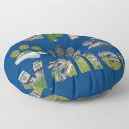 Happy Valley Nights Floor Pillow
