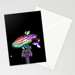Whale of the past Stationery Cards