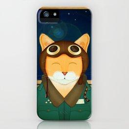 Aviator Cat iPhone Case