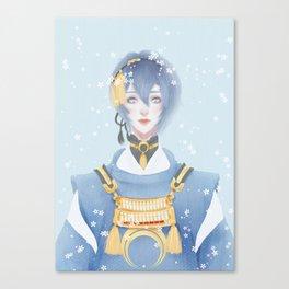 Mikazuki Munechika Canvas Print
