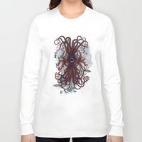 cthulu Long Sleeve T-shirts featuring Cthulu by Sybille Sterk