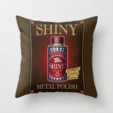 Vintage Shiny! Throw Pillow