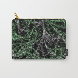 Green Magical Wisps Carry-All Pouch