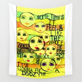 My Next Act Wall Tapestry
