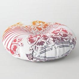 Hawaii Five-O Light Floor Pillow