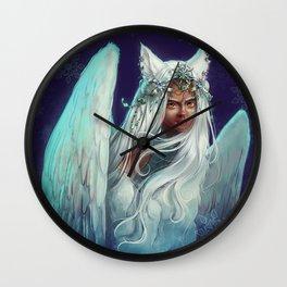 Snow Goddess Wall Clock