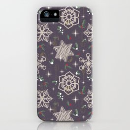 Xmas In The City iPhone Case