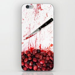 Healthy bloody Eating iPhone Skin