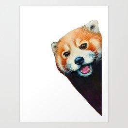 Panda Selfie Art Print