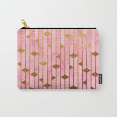 Pink Marble Skyscrapers Carry-All Pouch