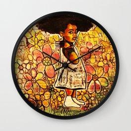 2014 Intelligent Black Child ( never let your oppressor judge you ) Wall Clock