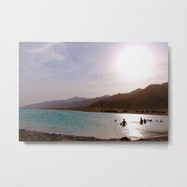Sinai sunset Metal Print