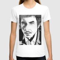 bob dylan T-shirts featuring Bob Dylan by Jocke Hegsund