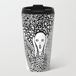 The Scream. Edvard Munch. 1893 Travel Mug