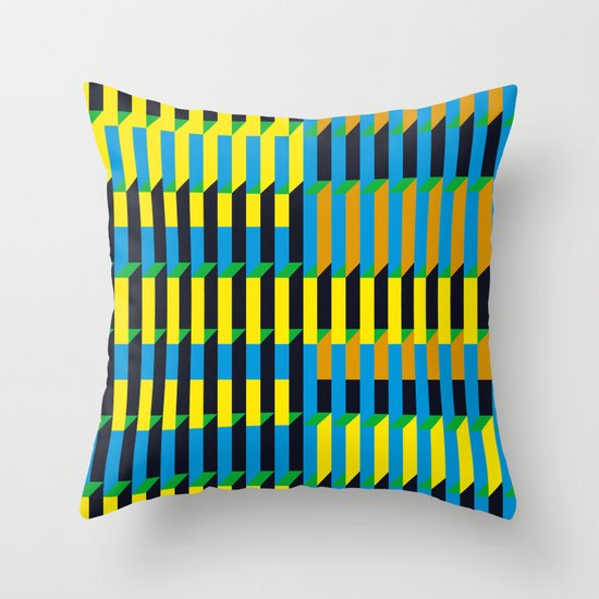 Cinetism Throw Pillow