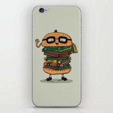 Geek Burger iPhone & iPod Skin