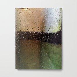 Drops Metal Print