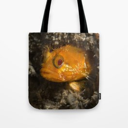 Yellowfin Fringehead Tote Bag
