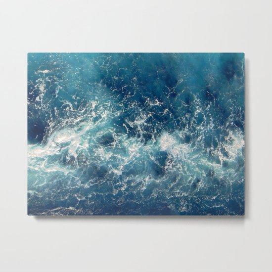 Sea splashes Metal Print