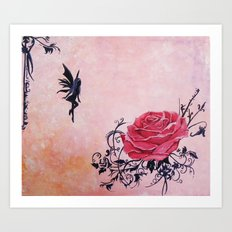 Tattoo Fairy Art Print