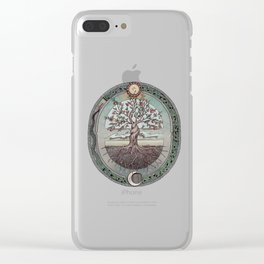 Origins Tree of Life Clear iPhone Case