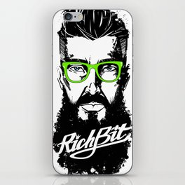 RichBit. Hipster iPhone Skin