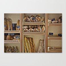 La Boulangerie Canvas Print