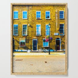 London Terraced Houses Serving Tray