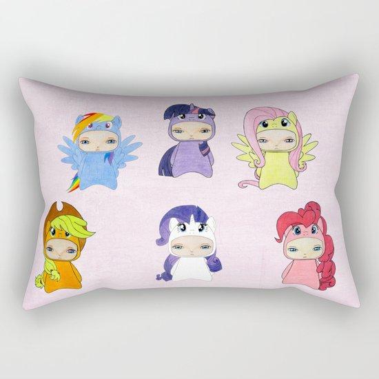 A Boy - Little Pony Rectangular Pillow