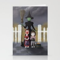 coven Stationery Cards featuring Coven by Rustic robin designs