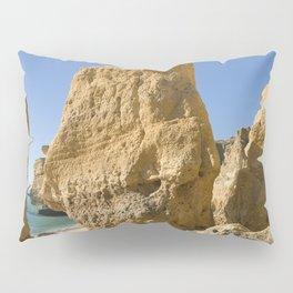 Albufeira cliffs Pillow Sham