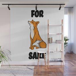 For Fox Sake! Wall Mural