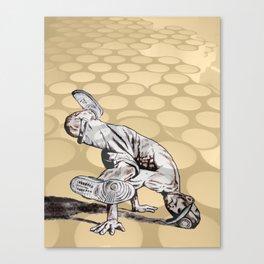 B BOY - vanguard style Canvas Print