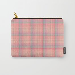 Buttons and Bows Plaid Carry-All Pouch