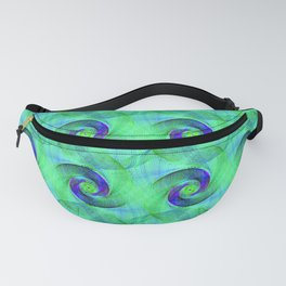 70s Waves Fanny Pack
