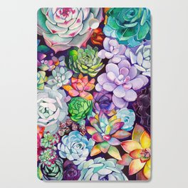 Succulent Garden Cutting Board