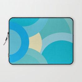 Abstract Geometric Circles 2 Laptop Sleeve