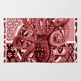 Aka Tako (Red Octopus) Rug