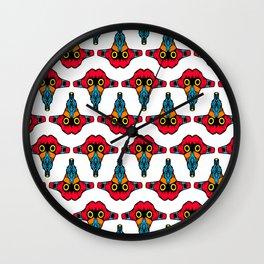 Mouth Tongue - L.O.B. Wall Clock