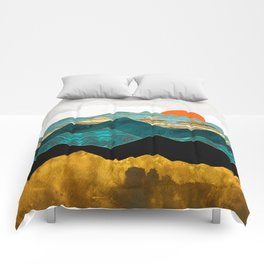 Turquoise Vista Comforters