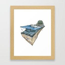 Orcas Point Framed Art Print