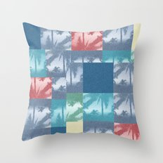 Palm beach Throw Pillow