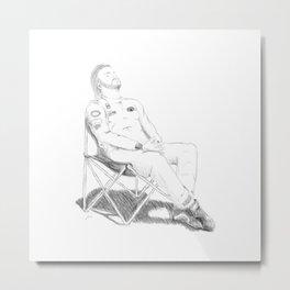 Alonso's Nap. Metal Print