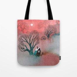 Misty Moors Tote Bag
