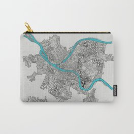 Pittsburgh Neighborhoods Carry-All Pouch