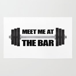 Meet Me At The Bar Rug