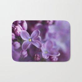 Purple Lilac Bath Mat