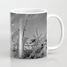 Snow crystals with moon Coffee Mug