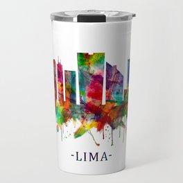 Lima Peru Skyline Travel Mug