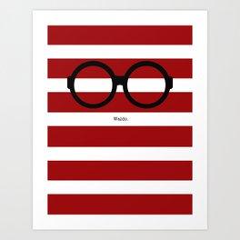 Where's Waldo Art Print